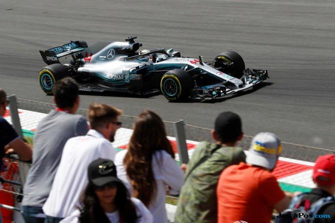 Formula 1, F1, GP Spanyol, Sebastian Vettel, Lewis Hamilton, Valterri Bottas, Daniel Ricciardo, Max Verstappen, Kimi Raikkonen