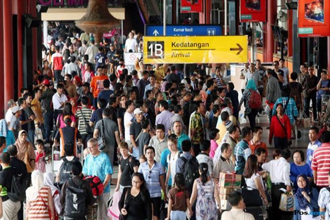 Libur Paskah, Penumpang di Bandara Soekarno-Hatta Melonjak 18,4 Persen