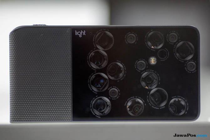 Light L16, smartphone 9 lensa, smartphone 9 kamera