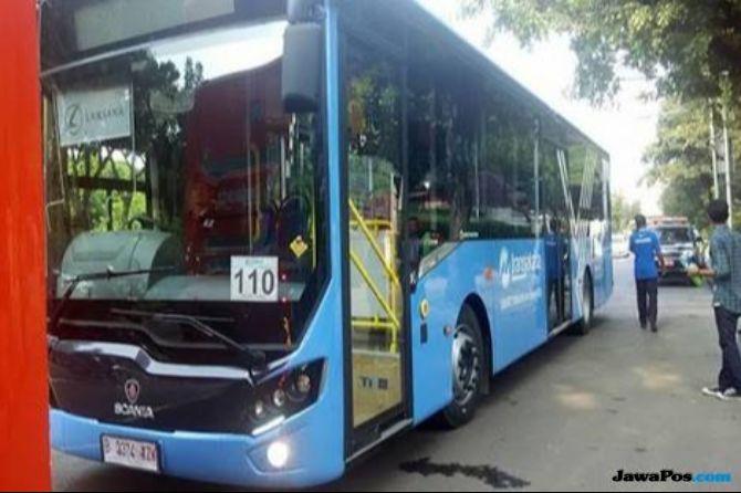 Lima Bus Lower Deck Asian Games Beroperasi di Bandara Soekarno-Hatta