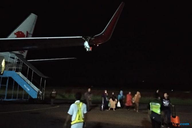 Lion Air Nabrak Tiang Listrik, Pengamat: Lagi Apes Aja ...