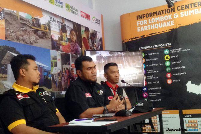 Lombok Bangkit, Korban Gempa Tinggal di Hunian Sementara