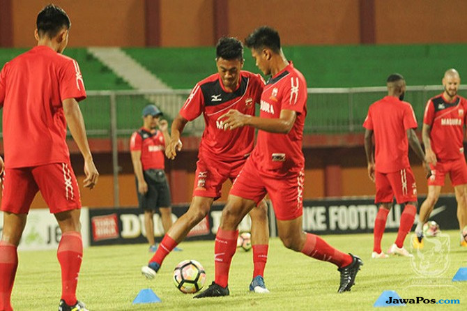 Madura United Tanpa Tiga Pilar Saat Jamu Sriwijaya FC