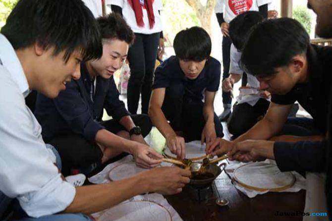 Mahasiswa Jepang Belajar Bahasa Indonesia di UMM