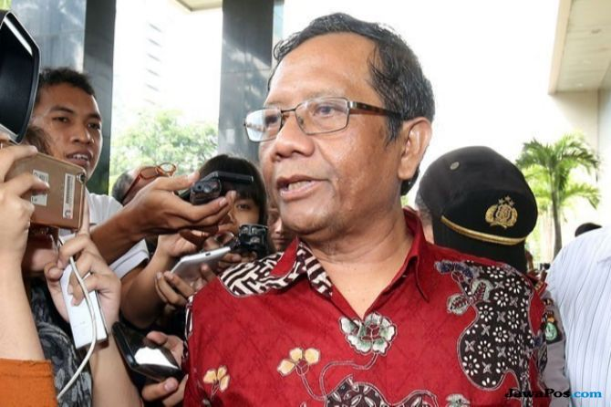 Mahfud MD: Pak Pratikno Minta Saya Agar 'Stand By'