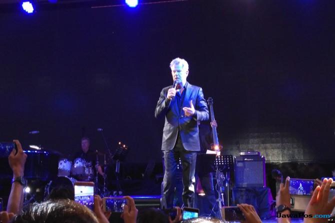 Malam Bersejarah David Foster di Yogyakarta