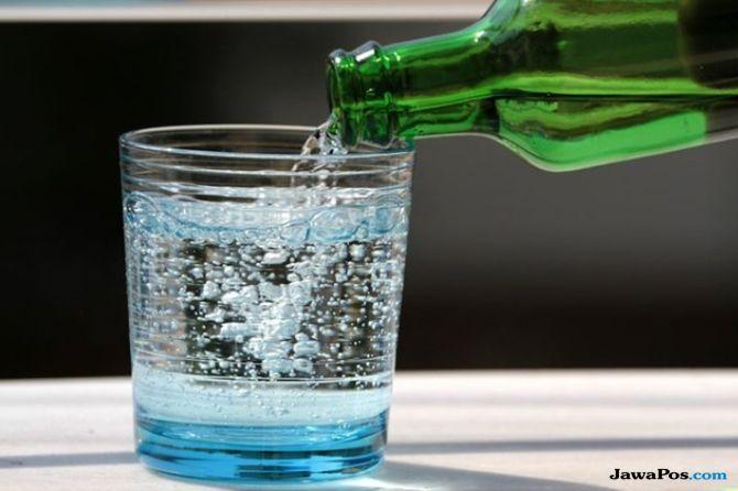air soda, sparkling water, manfaat air soda,