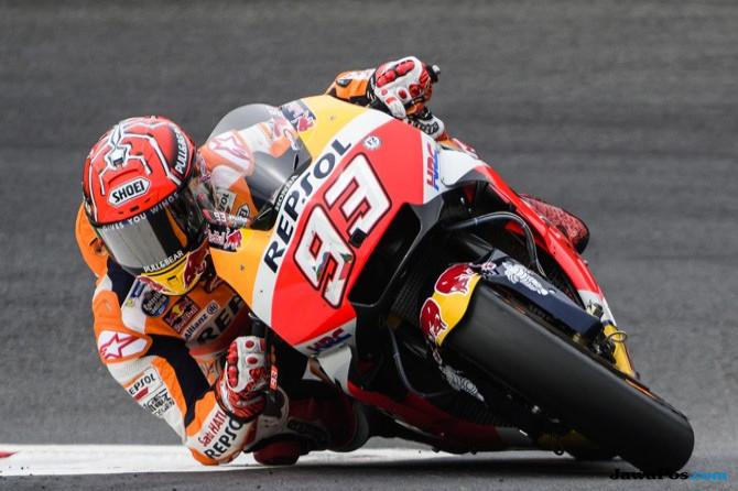 Marquez Raih Pole Position, Duo Ducati Siap Mengancam