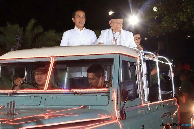 Ma'ruf Amin: Waduh Kiai Kalah Salatnya dengan Pak Jokowi