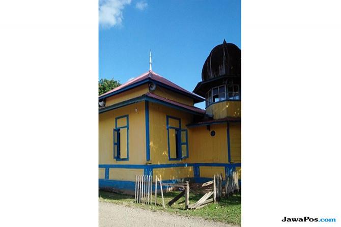 Masjid Tertua di Kabupaten Tebo yang Tetap Ramai Jamaah