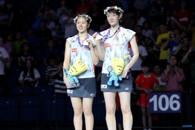 Kejuaraan Dunia 2018, Mayu Matsumoto/Wakana Nagahara, Yuki Fukushima/Sayaka Hirota