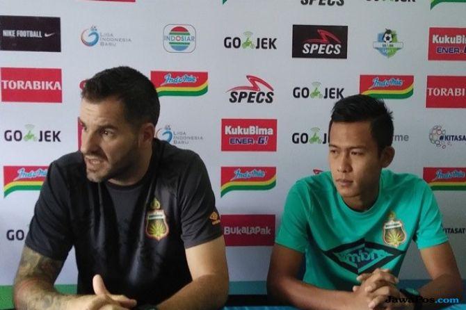Simon McMenemy, Bhayangkara FC, Liga 1 2018, Luis Milla, Timnas Indonesia