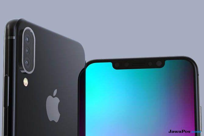 iphone 2018, bocoran iphone terbaru, iphone tiga kamera