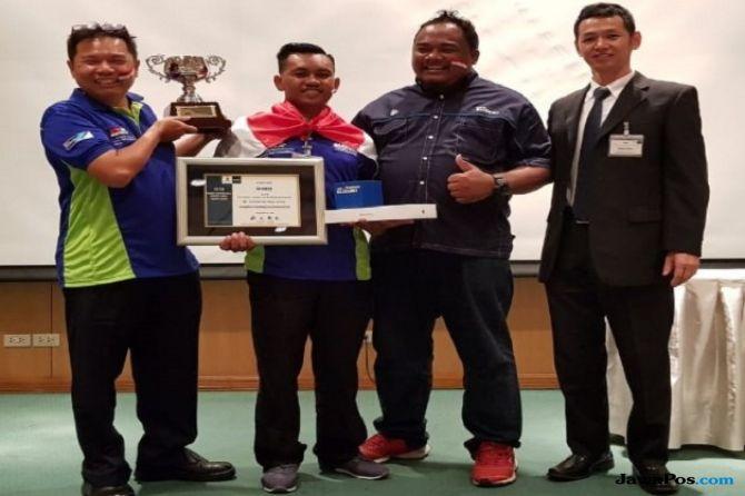 Mekanik Indonesia Jawara Kompetisi Motorcycle Service Skill Se-Asia