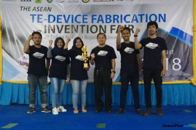 Membanggakan, Mahasiswa ITS Raih Juara Tingkat ASEAN
