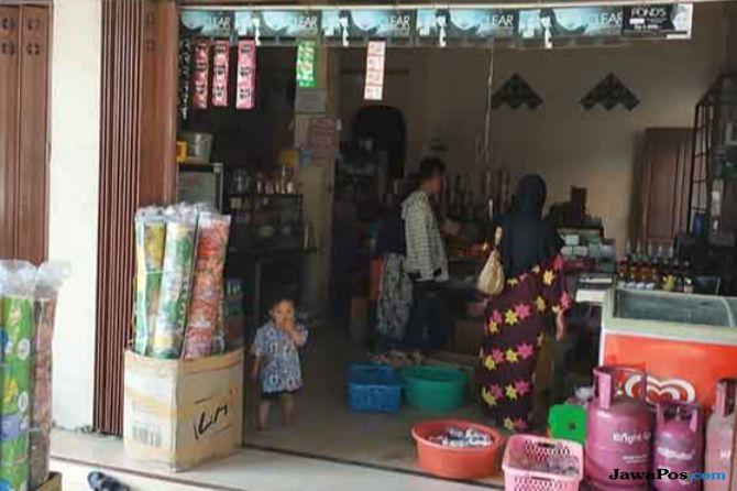 Pedagang di Palu