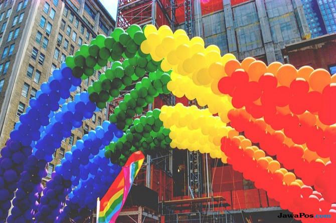 Ilustrasi simbol LGBTI