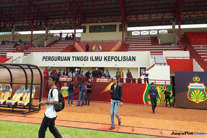 Bhayangkara FC, Liga 1 2018, Stadion PTIK