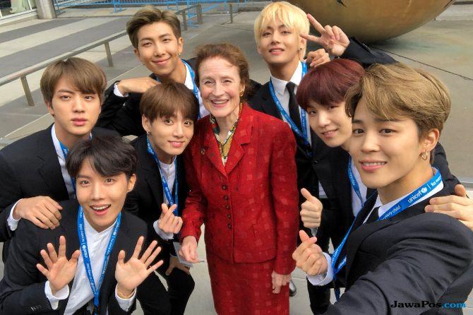 Mengapa BTS Diundang Pidato di UNICEF PBB?