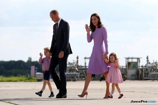 Mengenal Karakter Anak Pangeran William-Kate Berdasarkan Urutan Lahir