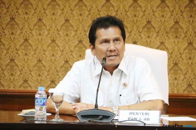 Menteri PAN-RB Jamin Seleksi CPNS Bebas Calo