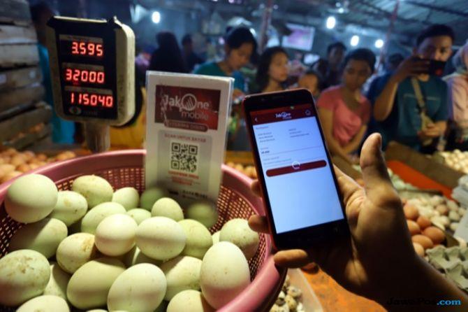 Meroket! Harga Telur Rp 29 Ribu di Pasar Kebayoran Lama