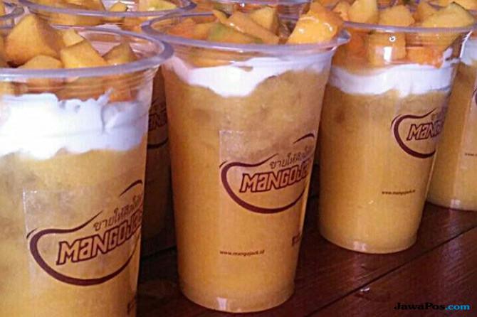 Minuman Rasa Mangga Thailand, Bikin Anak Muda Zaman Now Rela Antre