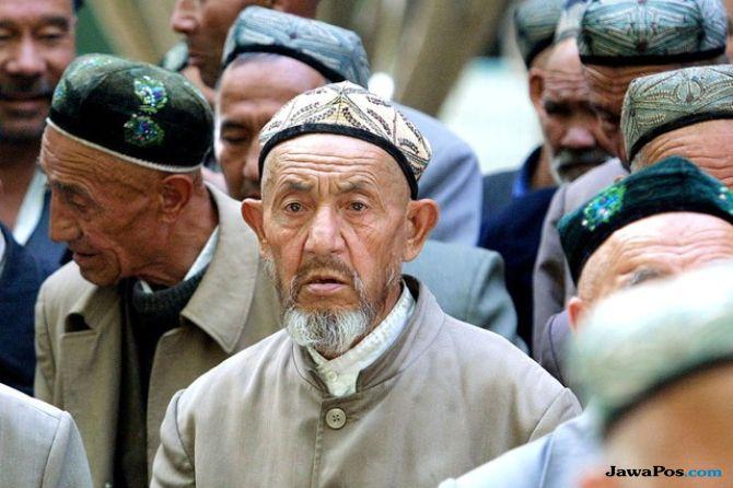 muslim tiongkok tolak ganti kubah masjid