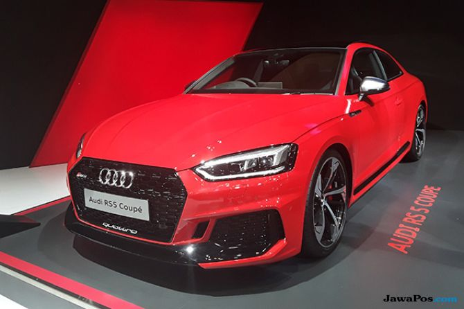 New Audi RS 5 Coupe: Sportscar Harian Dibanderol Rp 2,6 Miliar