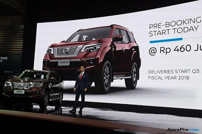 New Nissan Terra: SUV Berfitur Keselamatan Canggih Hadir di GIIAS 2018