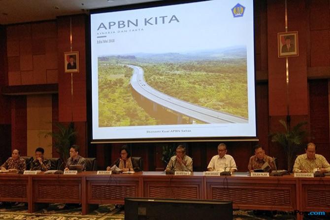 Nilai Tukar Rupiah dan Harga Minyak Meleset dari Asumsi APBN 2018
