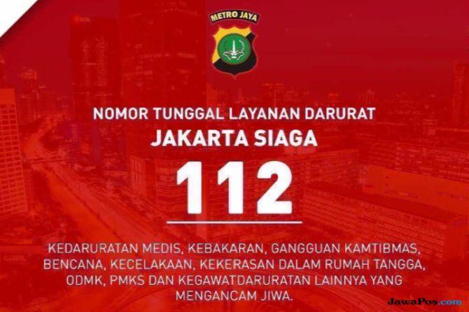 Nomor Sakti 112 di Jakarta