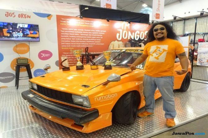 Nyentrik, Mobil Langka Corolla DX Build Up Digeber di Sirkuit Sentul