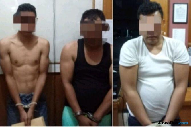 Oknum Polisi dan Mahasiswa Tertangkap Sedang Pesta Sabu