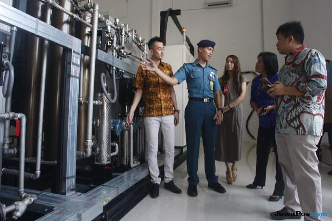 Olah Air Campur Solar untuk Bahan Bakar Kapal Perang