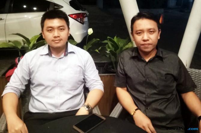 Ketua BINTANG Kota Medan Bobby Lim (kiri) dengan Wakil Ketua Sandy Wu.