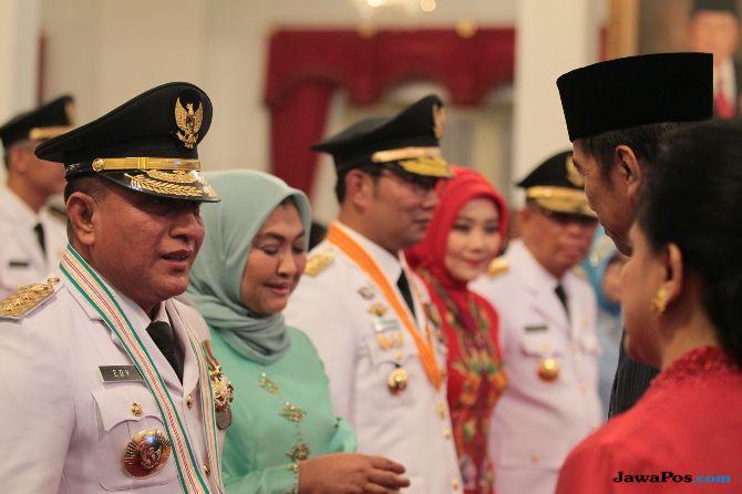 Pagi Ini Jokowi Lantik Gubernur-Wagub Kaltim dan Sumsel