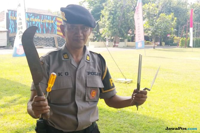 Pak Eko, Polisi Viral itu Tetap Bahagia Meski Belum Punya Momongan