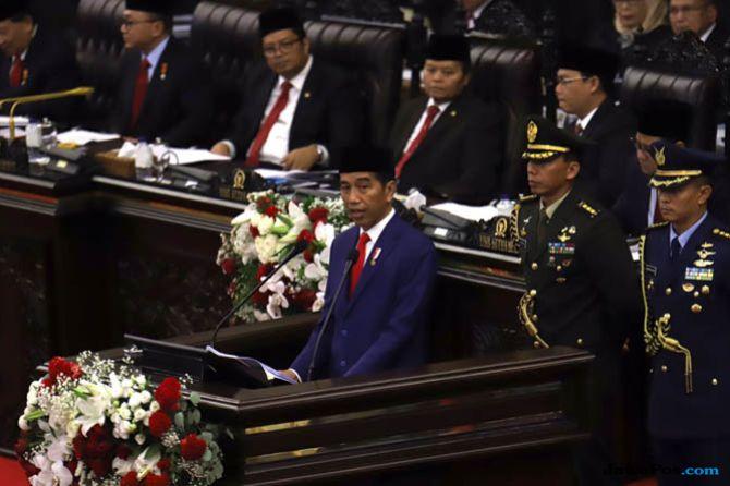 Pamer Soal Freeport dan Blok Rokan, Jokowi Mengaku Tegas Hadapi Asing