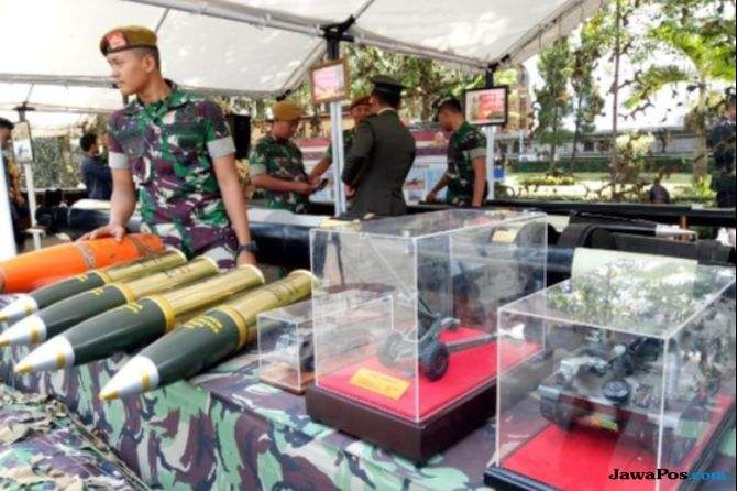 Pameran Alutsista, Warga Bandung Bisa Lihat Senjata Perang Terbaru TNI