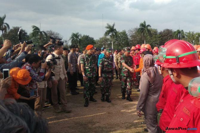 Panglima Instruksikan Anggota TNI Polri Tidur di Lahan Rawan Karhutla