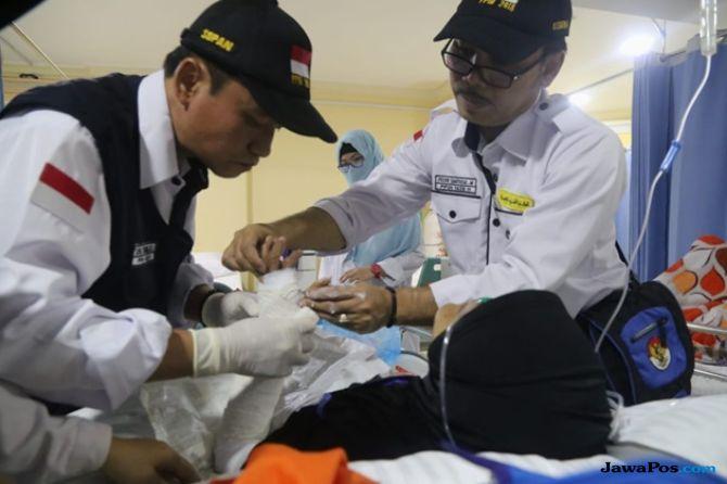 Pantau Kondisi Jamaah Haji, Tim Kesehatan Siap Siaga di Bandara