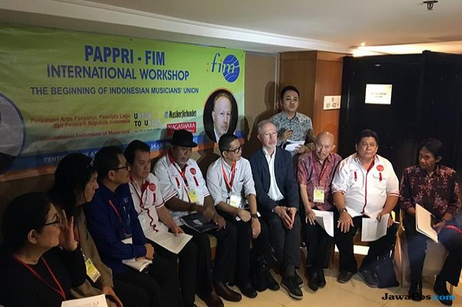 PAPPRI dan FIM Lokakarya Bentuk Serikat Pekerja Musik