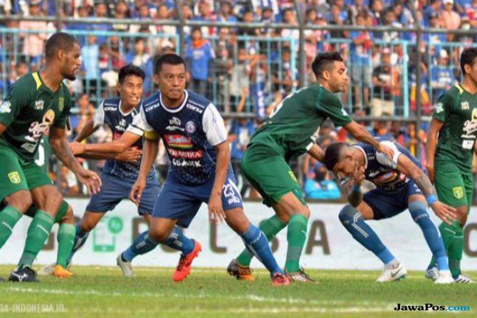 Liga 1 2018, Arema FC, Persebaya Surabaya, Arema 1-0 Persebaya, Derby jawa Timur