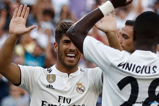 Real Madrid, Juventus, Marco Asensio, Cristiano Ronaldo, ICC 2018,