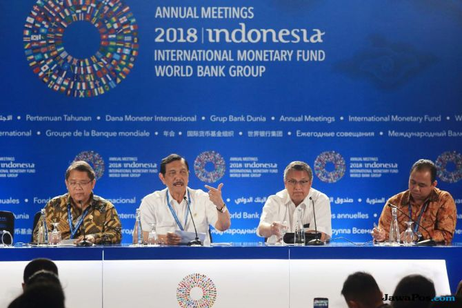 Paviliun RI Bidik Peluang Investasi Senilai USD 42,2 M di IMF-WB 2018