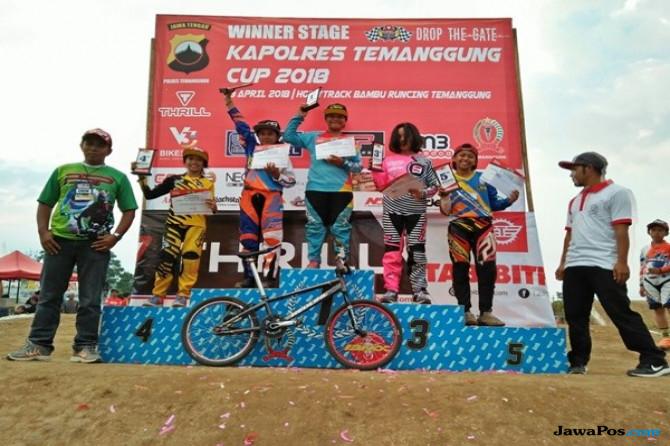 Pebalap Sepeda Kota Malang Gondol Medali di Ajang Porprov