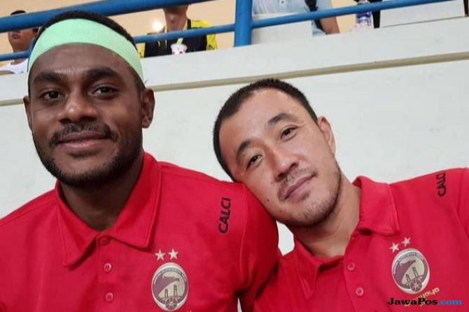 Liga 1 2018, Persija Jakarta, Sriwijaya FC, Marckho Sandy Merauje