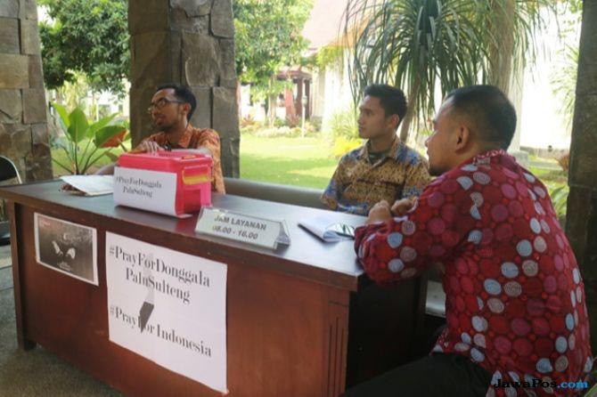 Pemkot Malang Buka Posko Bantuan Untuk Korban Gempa Sulteng