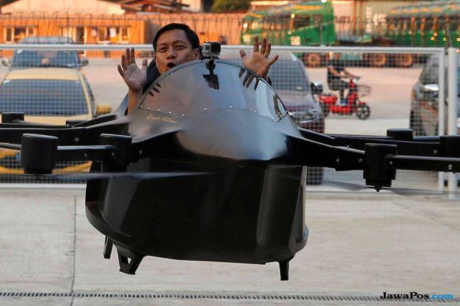 drone berpenumpang, drone,